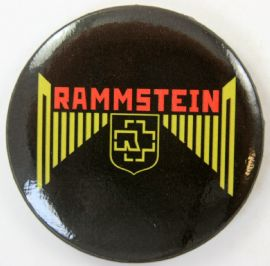Rammstein 'Logo' 56mm Badge